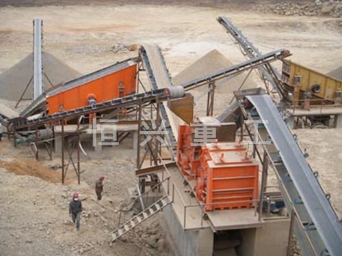 白云石制砂生产线