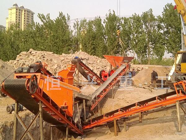 风化石制砂生产线